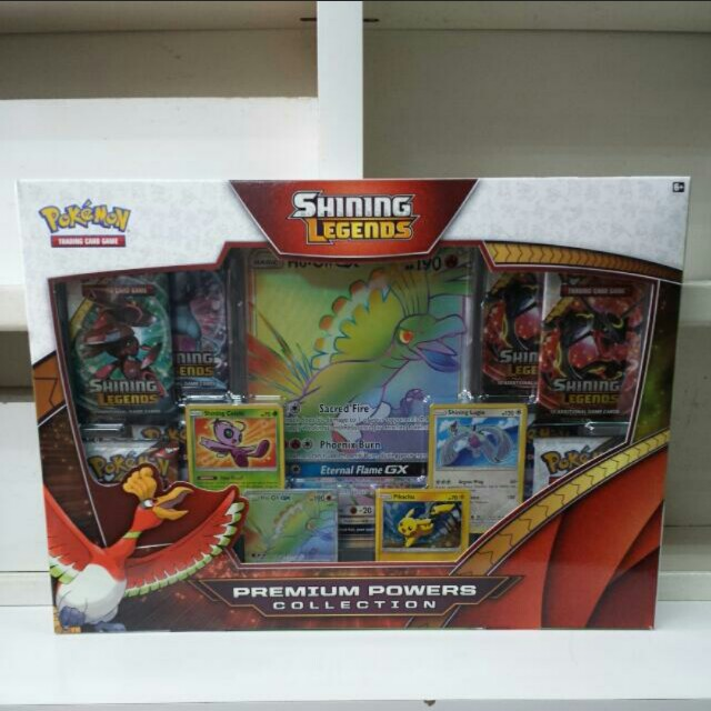 Shining Legends Ho-oh Premium Power Collection