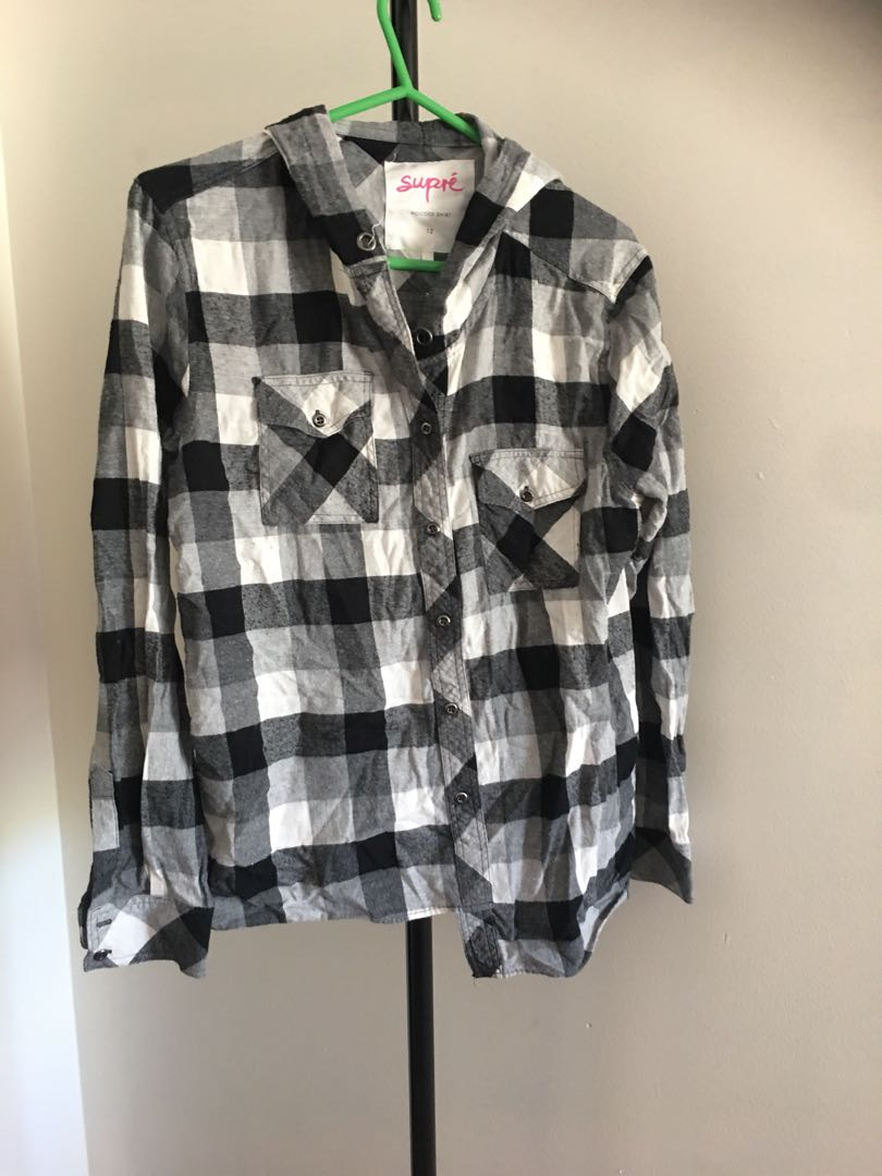 Size 12 hooded shirt