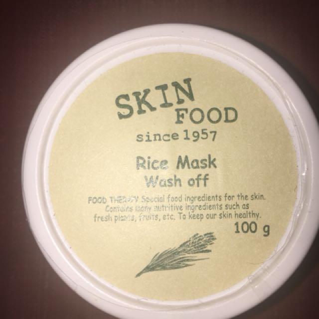 Skinfood Rice Wash off