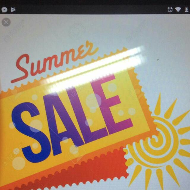 Summer Sale Different Items