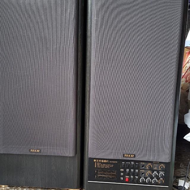 🔵TECO東元伴唱喇叭 SA7900PK  多功能擴大機喇叭