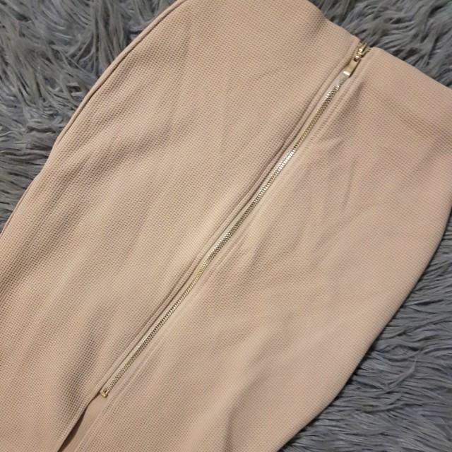 TEMT Nude skirt
