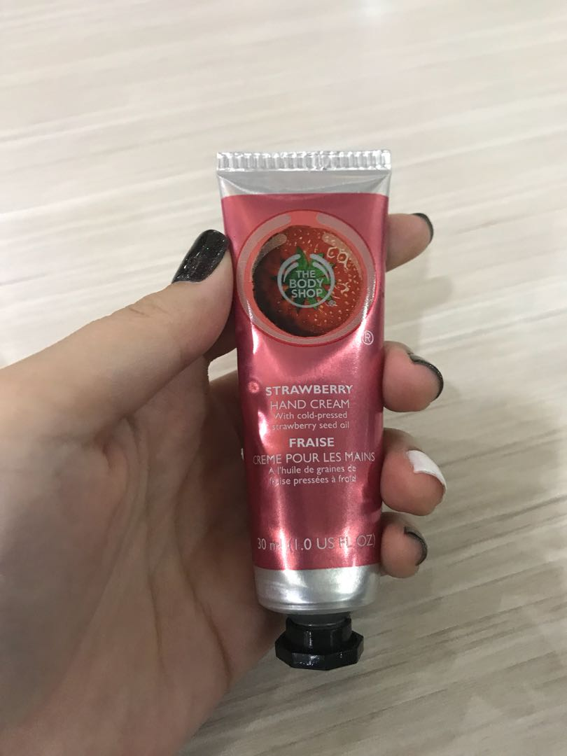 The body shop hand lotion