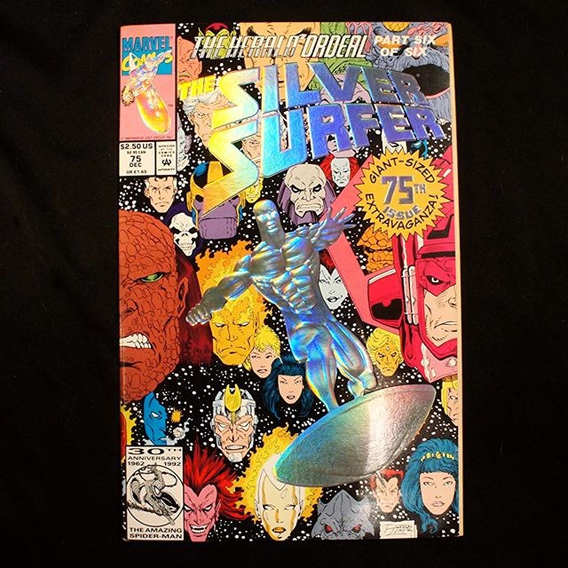 The SILVER SURFER #75 (1992 Marvel)