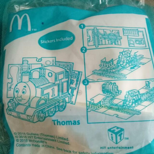 Thomas happy meal McDonald