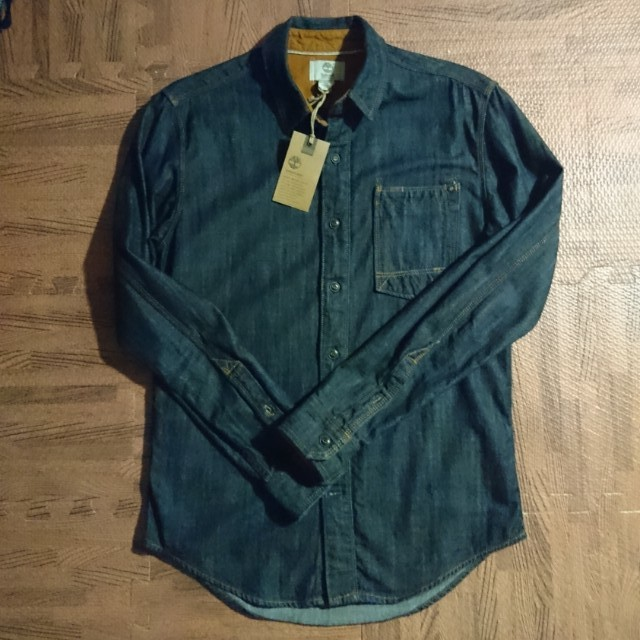 Timberland高磅數牛仔襯衫