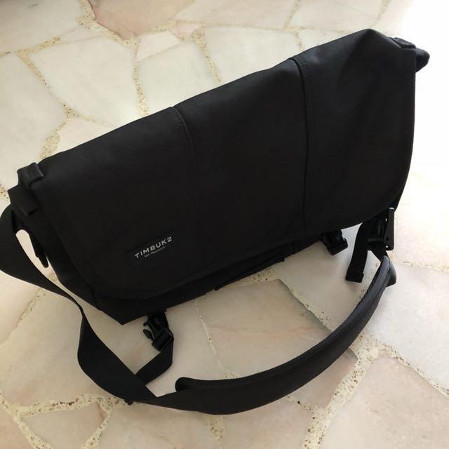 TIMBUK2 Classic Messenger Bag - Jet Black 368ec1dc13503