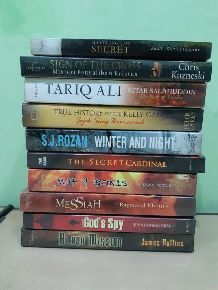 [TURUN HARGA] Novel 30rb