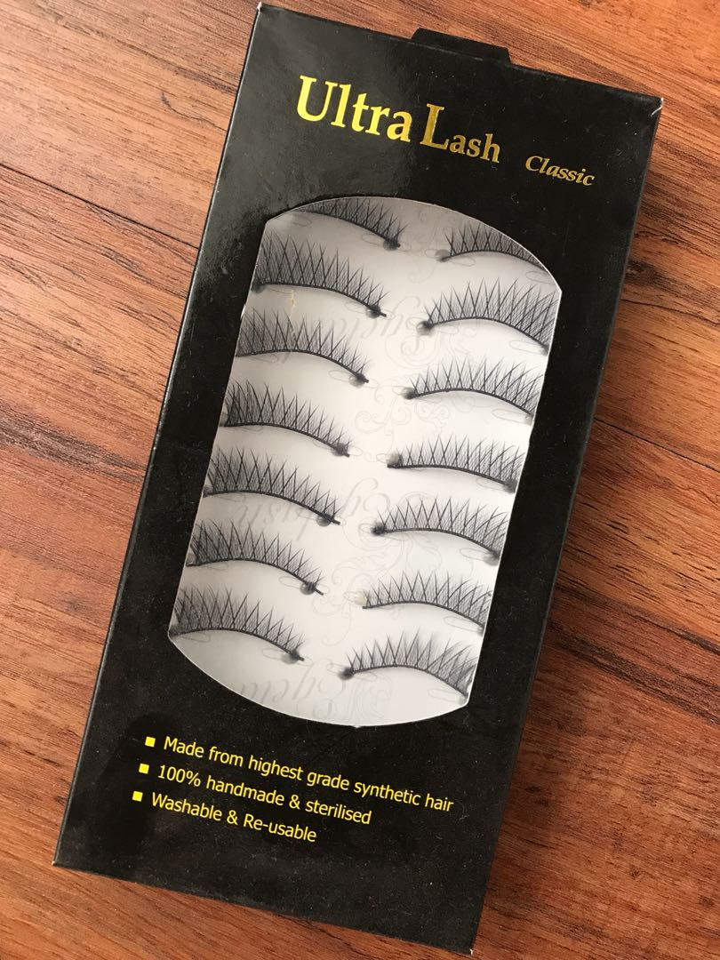 Ultra lashes fake lashes lightweight