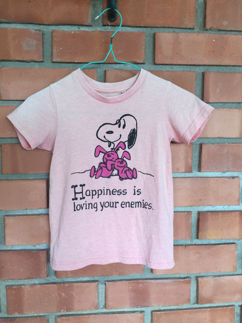 Uniqlo Snoopy T-shirt