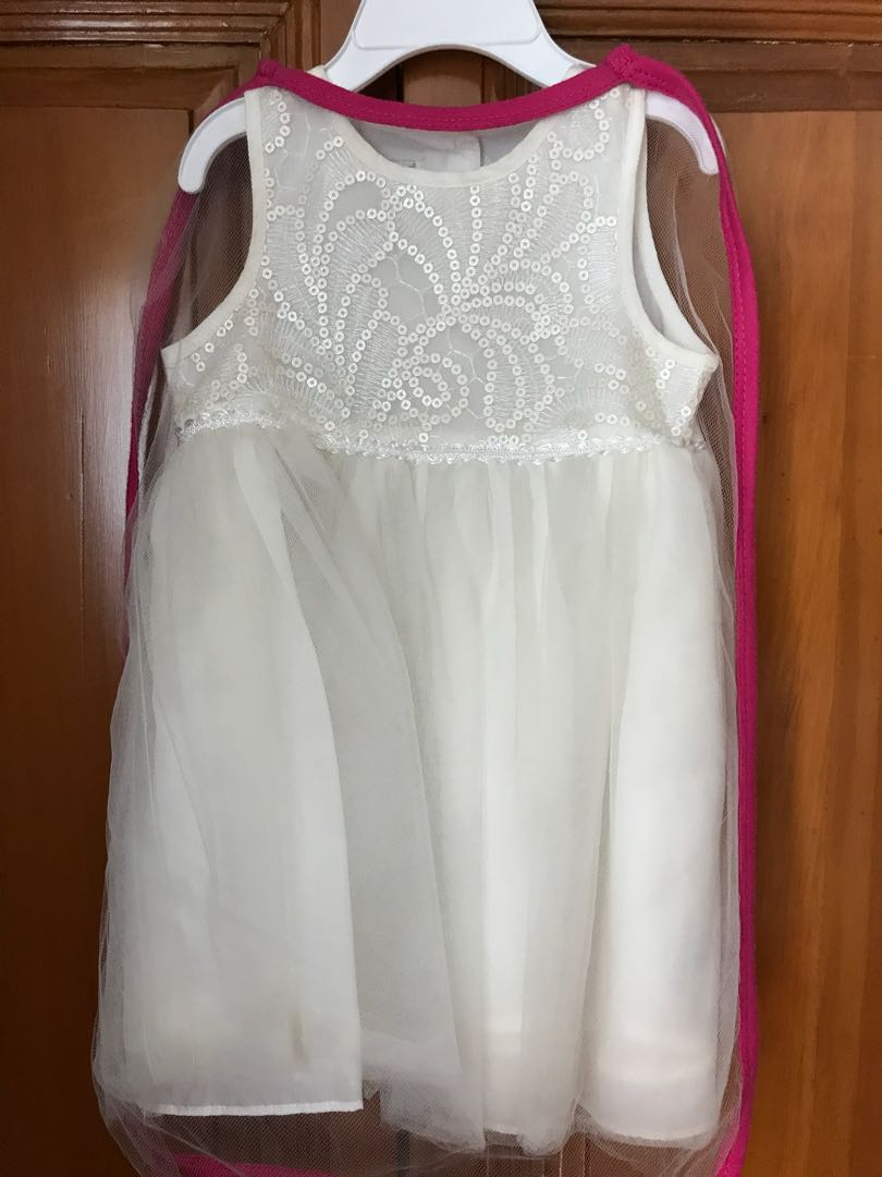 Used once Baby Formal Dress