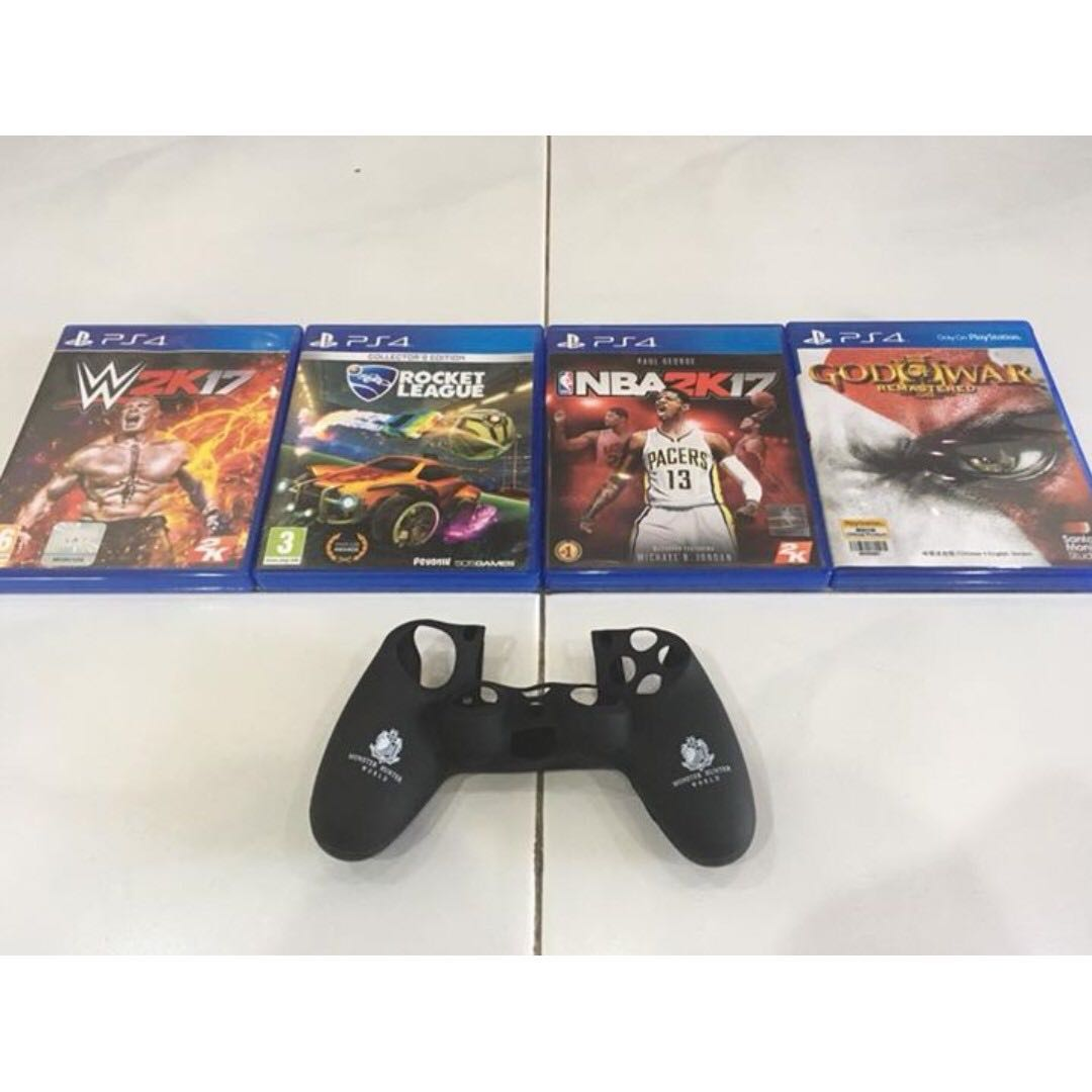 Used PS4 games for RM90 each!!