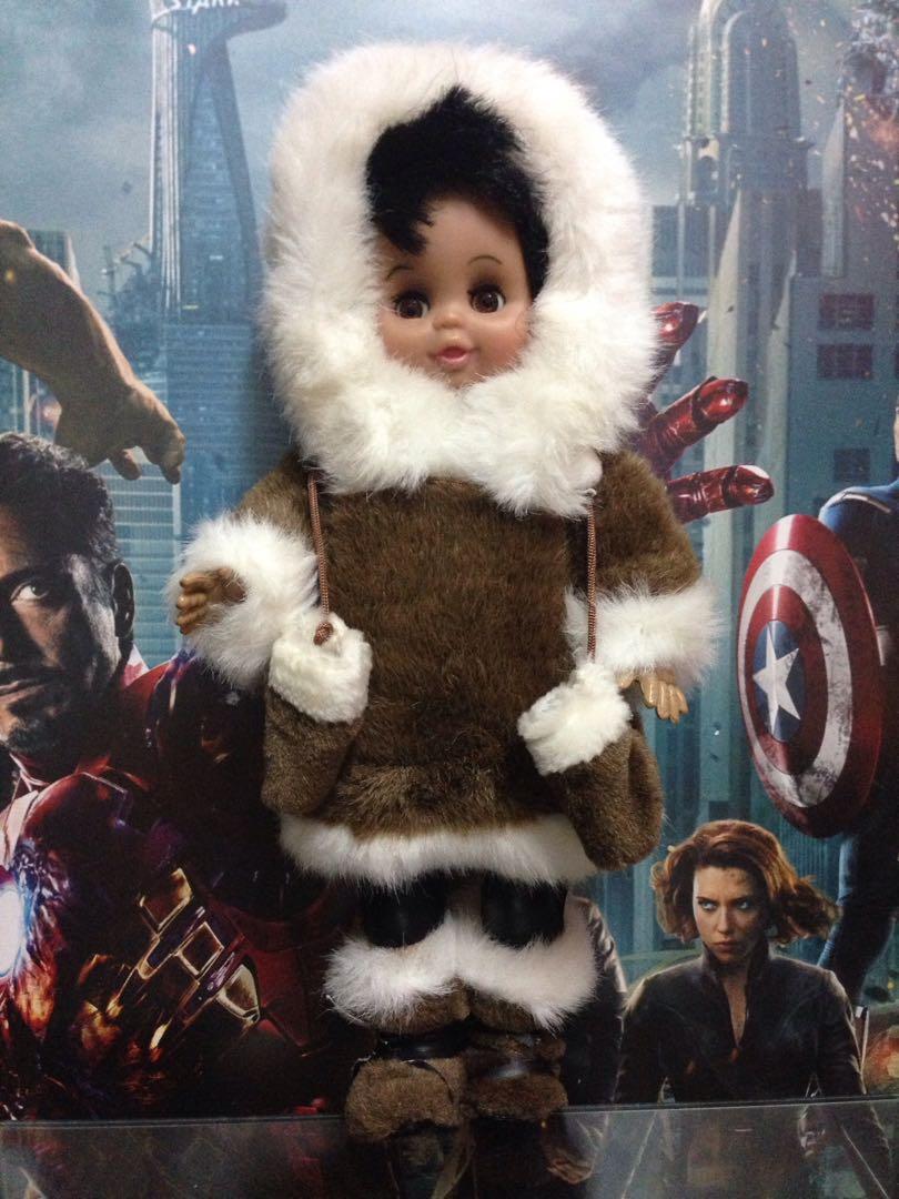 SALE! Vintage Eskimo doll