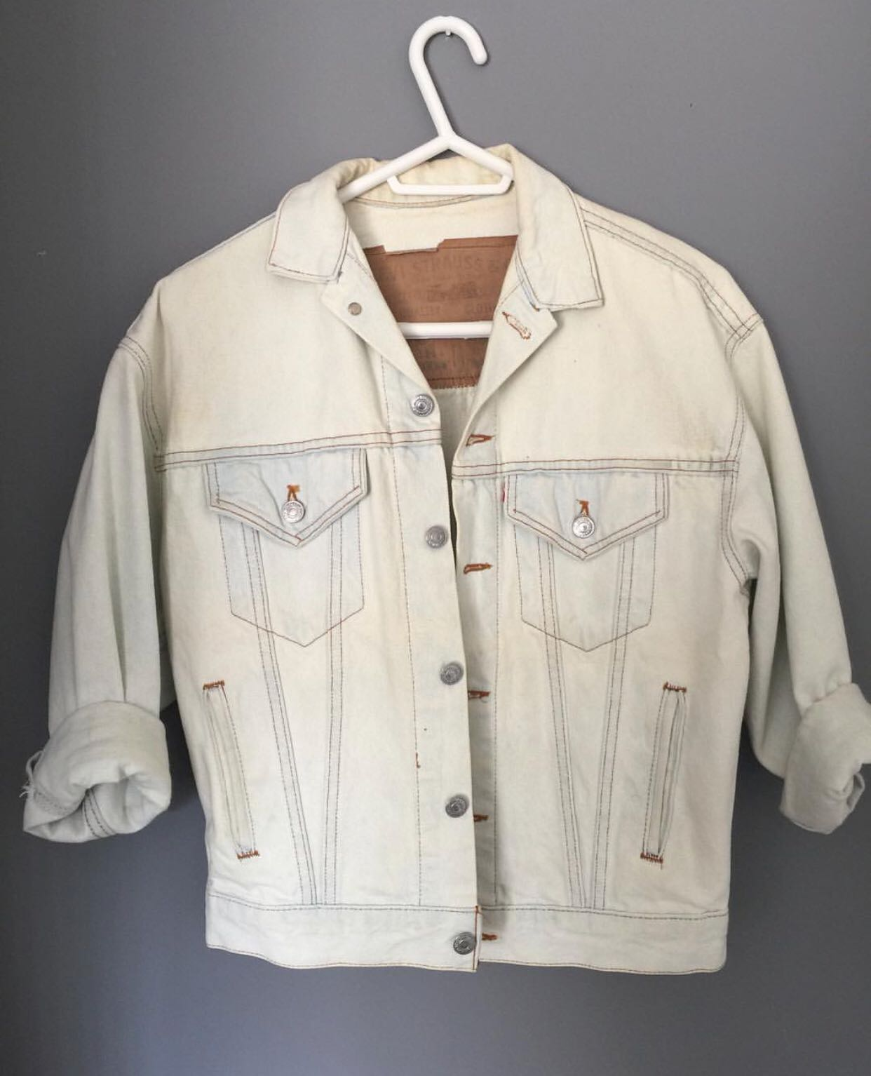 Vintage UO Levi's denim jacket