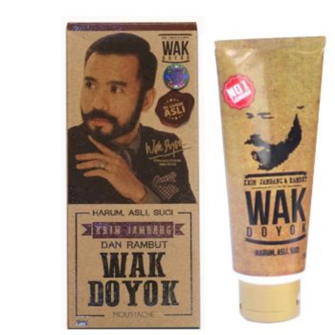 Wak Doyok Cream Jambang dan Rambut Original