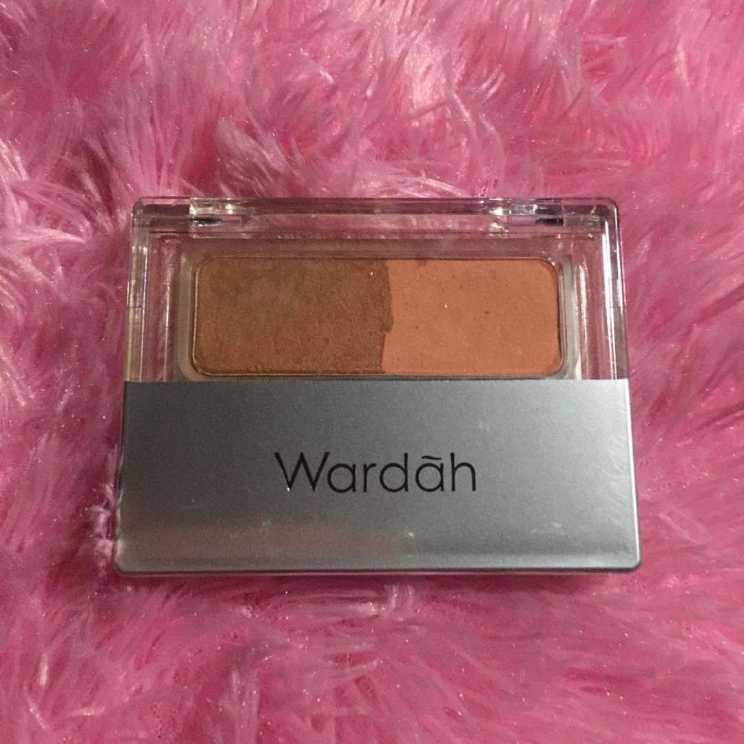 Wardah blush on seri A