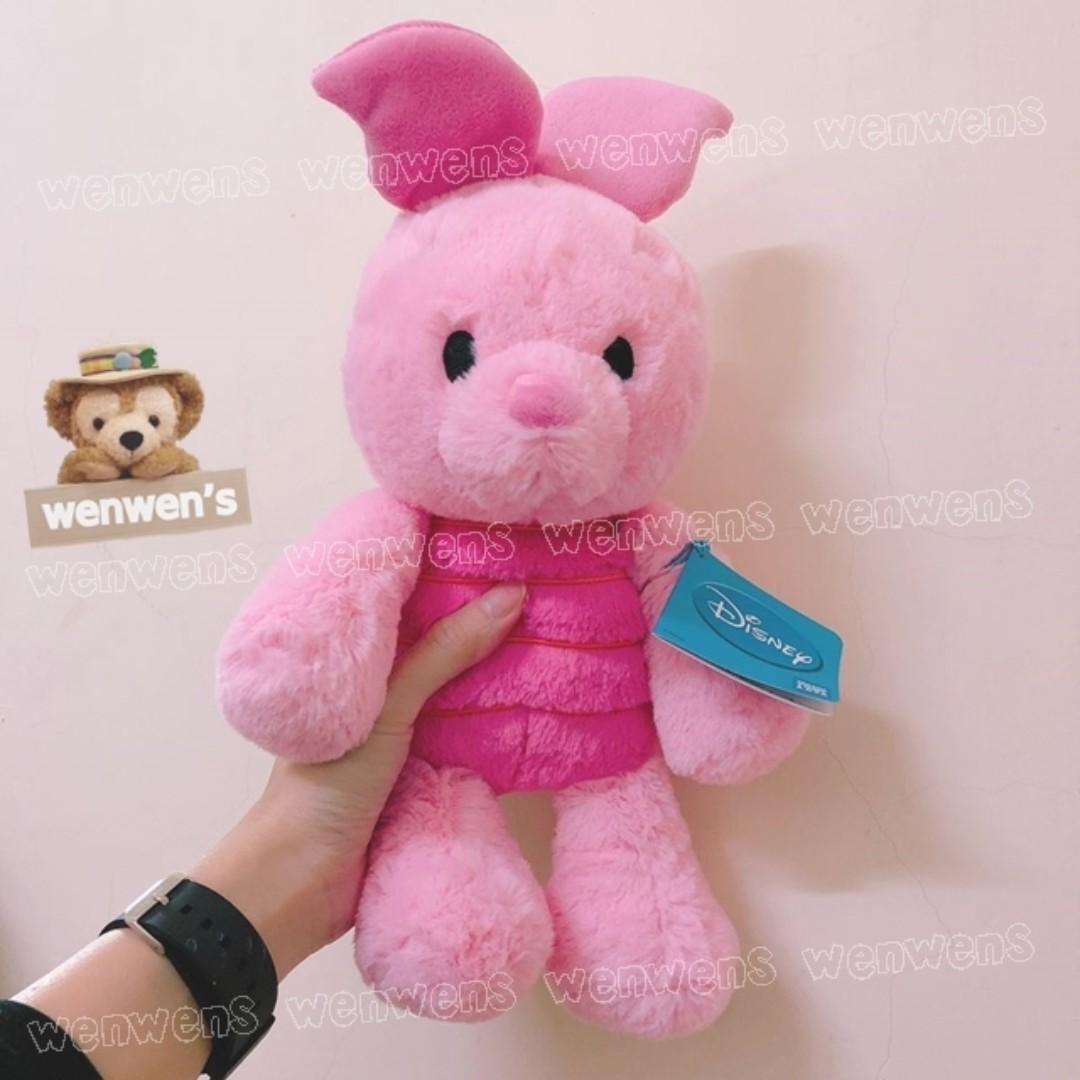 【Wenwens】日本帶回 迪士尼 小豬 小熊維尼 米奇 米妮 蒂蒂 唐老鴨 史迪奇 超軟超好摸 絨毛 娃娃 單售價