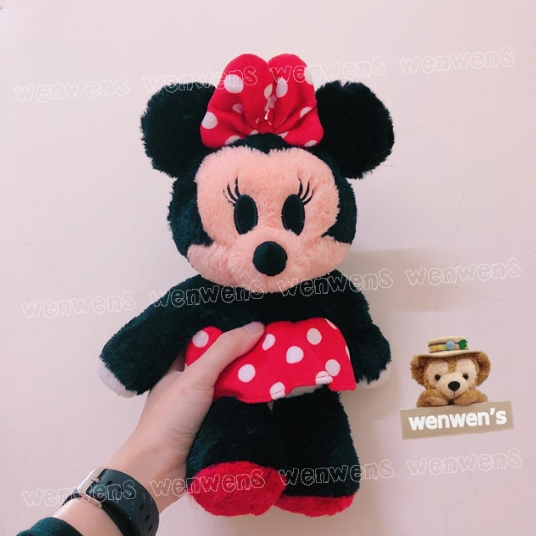 【Wenwens】日本帶回 迪士尼 米妮 米奇 蒂蒂 唐老鴨 蒂蒂 史迪奇 小豬 超軟超好摸 絨毛 娃娃 布偶 單售價