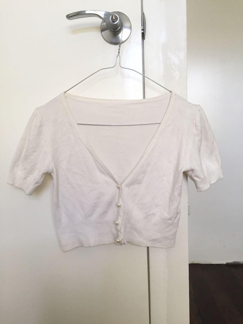 White Cashmere Top