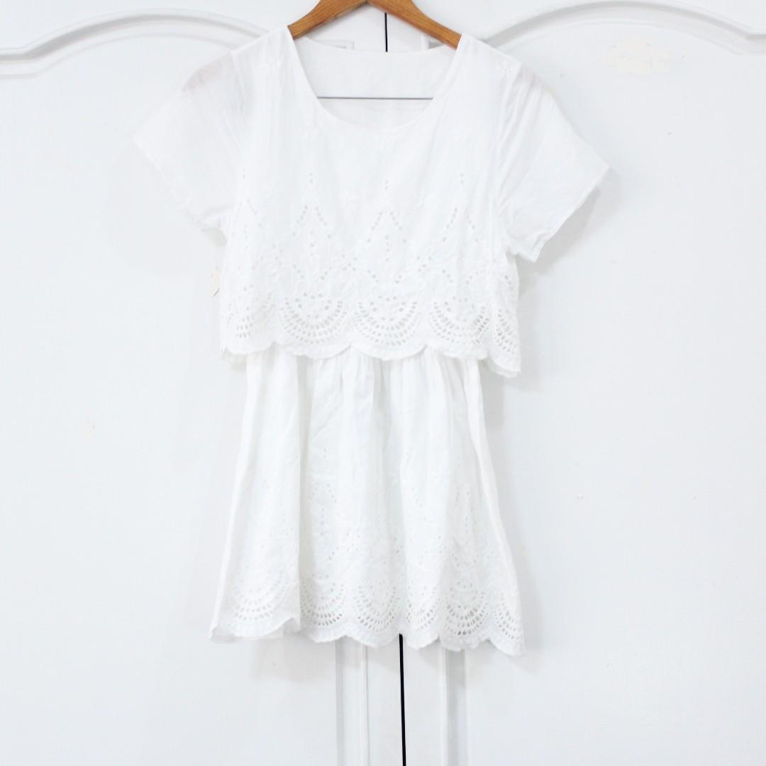 White Petite Dress
