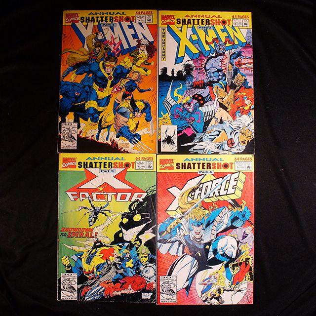 X-MEN Shattershot Arc (1992 Marvel) [Lot of 4]