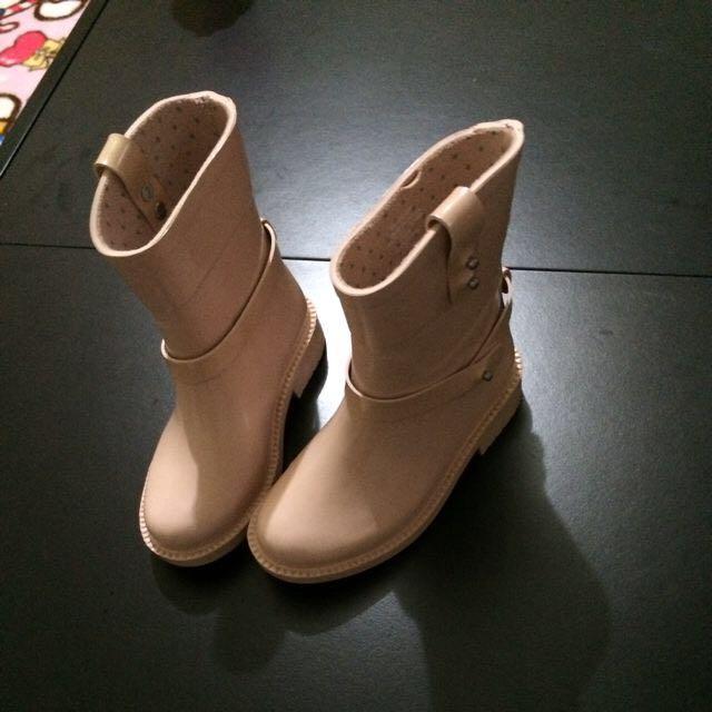 Zara 正品 雨靴