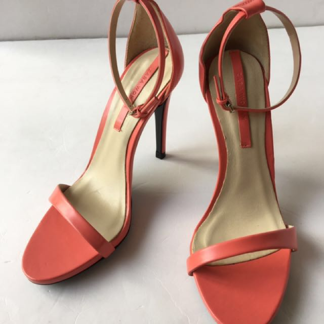9256dcb050b ZARA Pink High-Heel Sandal