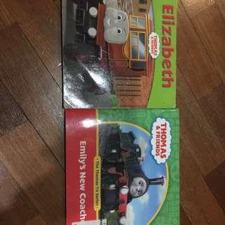 pre-loved thomas the train book x 2