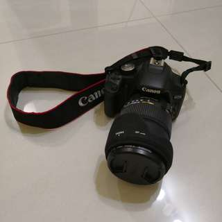 Canon 500D with 3 lens & Nissin Flash