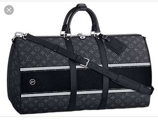 BNIB Louis Vuitton Keepall Fragment Series 45