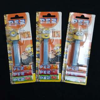 (Minions) Despicable Me 3 PEZ 皮禮士糖~3款