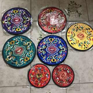 Embroidery design Coaster