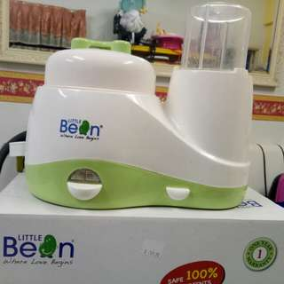 Little bean food processor and warmer