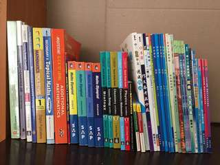 Used textbooks and activity books