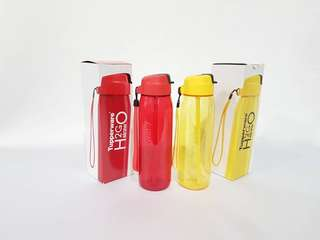 750 ml straw tumbler red or yellow