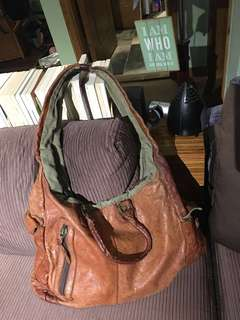 Bauhaus TOUGH Vintage Leather Bag