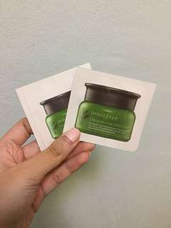 (Giving away) Innisfree Green Tea Seed Cream Sample