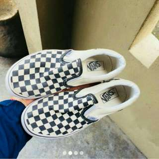 Vans Slip On Checkered Kids