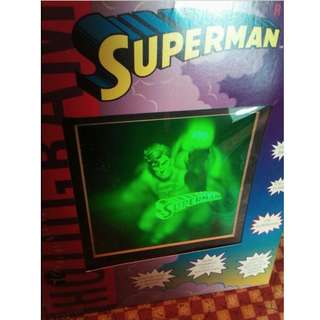 Collectible: 1994 Red Beam Superman Hologram