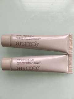 Laura Mercier Tinted Moisturizer Nude Lot of 2