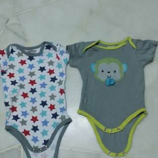 Baby Rompers 3-6m 100% cotton