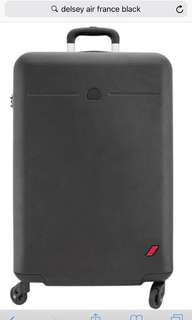 Delsey Air France 行李箱 ( Luggage ) 26' black colour