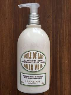 L'Occitane Milk Veil Body Milk Lotion New