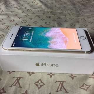 IPHONE GOLD 6 PLUS 32 GB F.U no dents