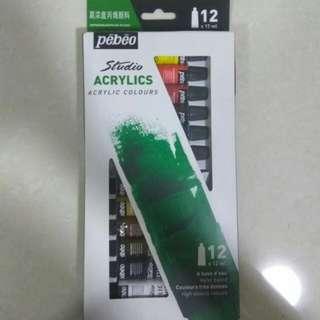 Pebeo Studio Acrylics Acrylic Colours