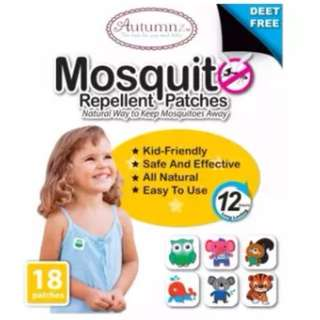 Autumnz Mosquito Repellent Patches (18 patches per pack)