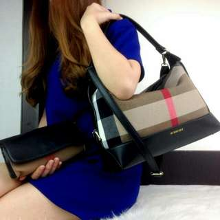 Burberry Premium Shoulderbag (Black)