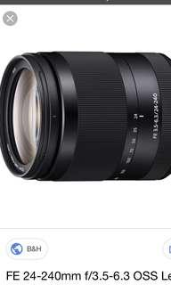 Sony 24-240mm