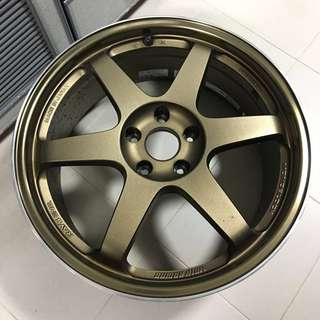 Genuine Rays Volk Racing 19x8.5 TE37 with FK453