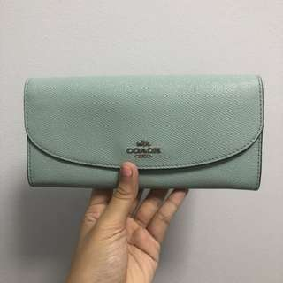 ✨ Price reduced// COACH Lady's long wallet